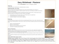 Gary Whitehead Plastering Re-Skimming Plasterboarding Oldham Manchester