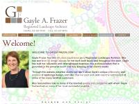 gaylefrazer.com 20 years experience, over 50 design awards, philosophy