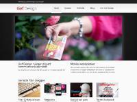 Gef Design - grafisk formgivning och webbdesign