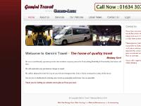 Gemini Travel - Your Local Trusted Minibus Transport Company - home