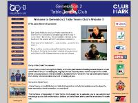 Generation 2 Table Tennis Club