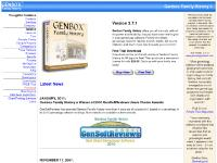 Genbox Family History Genealogy Software