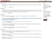 genealogyflow.com genealogy, genealogy news, genealogy blog