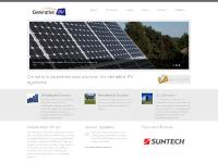 Generation PV Inc. - Ontario's experienced source for reliable PV systems