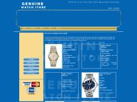 genuinewatchstore.com buing and selling used branded watces