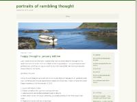 portraits of rambling thought