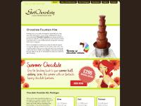 Chocolate Fountain Hire Specialists, parties and events throughout the North of England