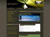 getdepth.co.uk Freelance, web developer, Chris Noble-Partridge