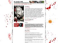 GG Allin - Official Site of the True King of Rock and Roll