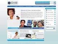 GHIB Ghana Bank Homepage
