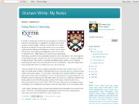 Graham White: My Notes