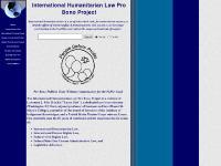 International Humanitarian Law Pro Bono Project