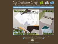 By Invitation Only | Invitations, Stationery & Wedding Accessories