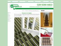 Carpets, Rugs and runners throughout the UK and Ireland