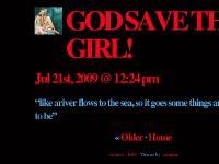 GOD SAVE THE GIRL!