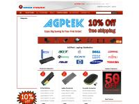 AGPtek Replacement Laptop Batteries, Laptop Parts, PC Computer Parts, Image Ink/Toner