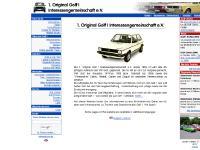 1. Original Golf I IG e.V. - Der Urgolf von VW im Originalzustand: Ein besonderer Youngtimer