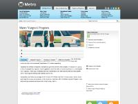 Metro Vanpool Program