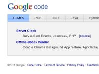 googlecodesamples.com HTML5, .NET, Java