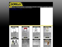 gorillaladders.co.nz aluminium ladders fibreglass ladder extension ladders step ladder aluminium scaffolding Gorilla Ladders