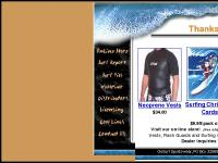 GoSurf Sportswear; T-Shirts, Neoprene Vests, Wet Suits, Surfing Christmas Cards, Fishing Christmas Cards, surfwear, gifts