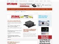 GPS World magazine covering GNSS news for industry professionals. | GPS World