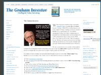 The Graham Investor — Intelligent Value Investing