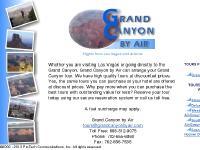 grandcanyonbyair.com air, airplane, tours
