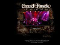 grandparadeprog.com Grand Parade Genesis Tribute Band Progressive Rock Chicago Illinois