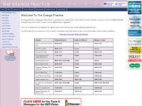 Notice Board, Practice Area, Appointments, Prescriptions