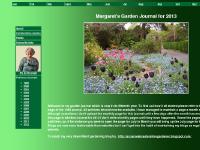 Margaret Penfold's Wigston Garden Journal for 2013