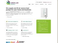 Air Source Heat Pumps - Installers, Suppliers, Advice | Green Air - South West