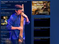 Chapman Stick player Greg Howard's Web Site