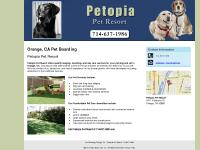 Pet Boarding Orange, CA - Petopia Pet Resort 714-637-1986