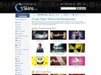 GSkins.org - Google Skins, Google Themes, Google Backgrounds