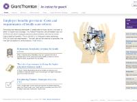 Services, Client sectors, Grant Thornton Thinking, Locations