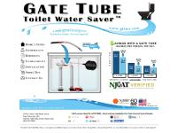 Gate Tube Toilet Water Saver - Introduction