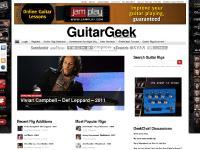 GuitarGeek — The Guitar Rig Database