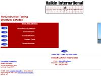 Halkin International: NonDestructive Wire Rope Testing Structural Services Home Page