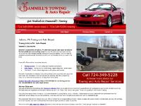 hammillstowing.com Towing Indiana PA, Auto Repair Indiana PA, AAA Approved Auto Repair and Towing