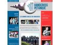 les bonnes boules de Handcross | HANDCROSS PETANQUE