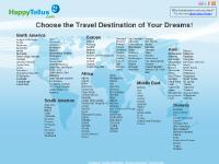 Holiday travel destination search for finding holiday resorts - HappyTellus.com