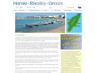 Haraki, Rhodes, Greece.