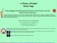 harpanddragon.com Harps, pedal harps, folk harps