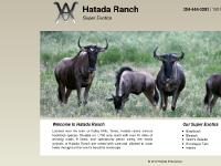 Exotic Animals for Sale | Exotic Animal Breeder | Hatada Ranch