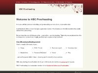 hbcproofreading.co.uk proofreading, editing, students