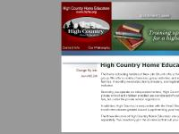 High Country Home Educators