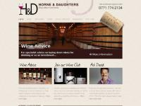 hdfinewine.co.uk Horne and Daughters, hdfinewine, wine advice