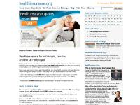 Affordable Health Insurance - Individual Family and Self-Employed