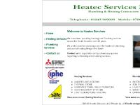 heatec-services.co.uk Heating Services, Plumbing Services, Website designer